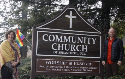 new chruch sign